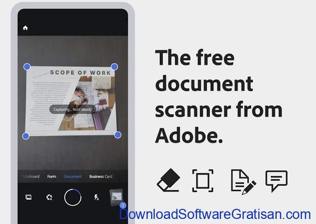 10 Aplikasi Scanner Android Terbaik - Adobe Scan