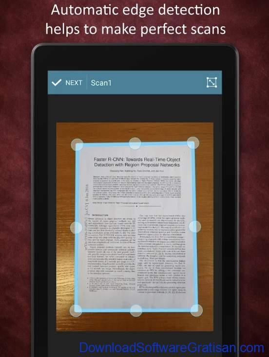 10 Aplikasi Scanner Android Terbaik - Smart Doc Scanner