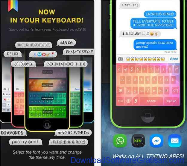 12 Aplikasi Font Gratis untuk iPhone dan iPad Cool Fonts