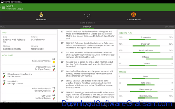 Aplikasi Livescore & Jadwal Bola Android THE Football App