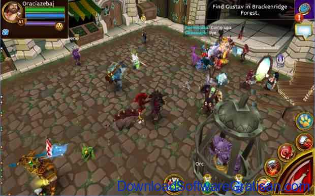 Game MMO Action RPG untuk Android Arcane Legends quest