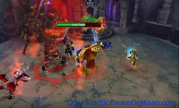 Game MMO Action RPG untuk Android Arcane Legends