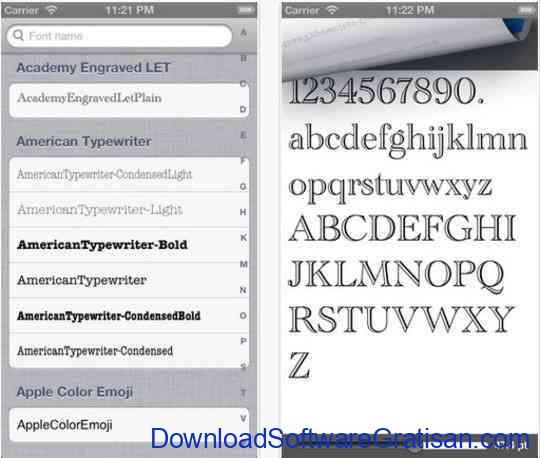 Font Gallery Preview