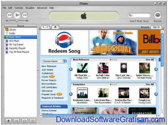 Download Media Player Gratis : iTunes