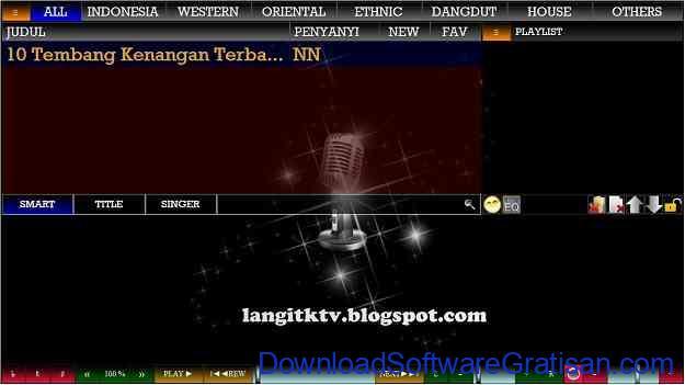 Aplikasi Karaoke Gratis Silangit PC Karaoke
