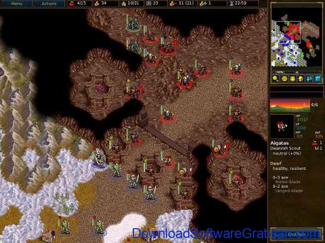 Download Game Strategi Untuk PC : Battle for Wesnoth