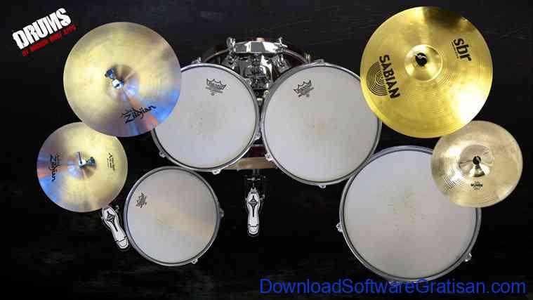 Download Aplikasi Drum Gratis untuk PC Drums