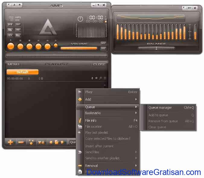 Download Aplikasi MP3 Player Gratis : AIMP