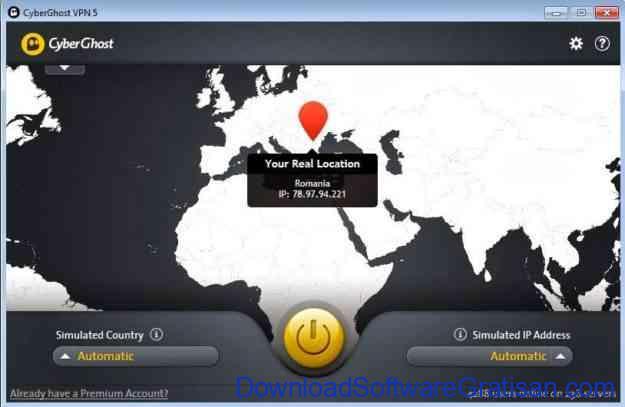 Download Aplikasi untuk Menyembunyikan IP CyberGhost VPN