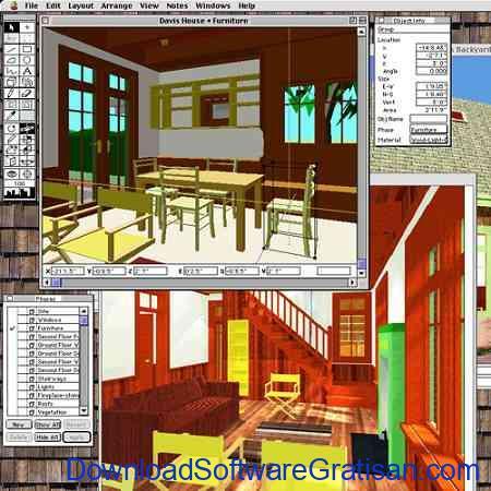 Aplikasi Desain Grafis Tiga Dimensi DesignWorkshop Lite