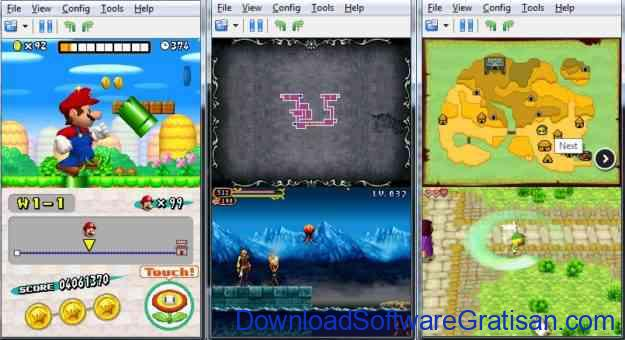 Emulator Nintendo DS Gratis untuk PC DeSmuME