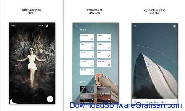 Aplikasi Gratis Android yang Berguna dan Bermanfaat Aplikasi edit foto Snapseed