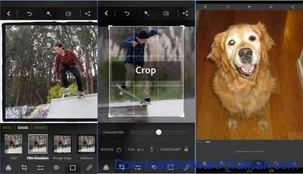 aplikasi edit foto android gratis terbaik adobe photoshop express