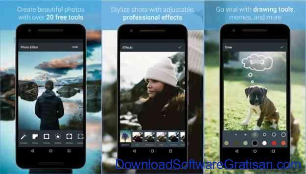 aplikasi edit foto android gratis terbaik aviary