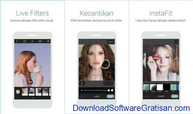 aplikasi edit foto android gratis terbaik caymera