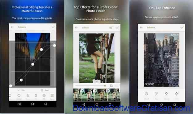 aplikasi edit foto android gratis terbaik fotor
