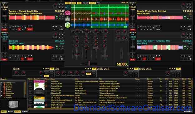 Aplikasi DJ untuk Edit & Remix Lagu Gratis Terbaik di PC Mixx