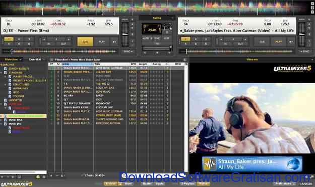 Aplikasi DJ untuk Edit & Remix Lagu Gratis Terbaik di PC UltraMixer