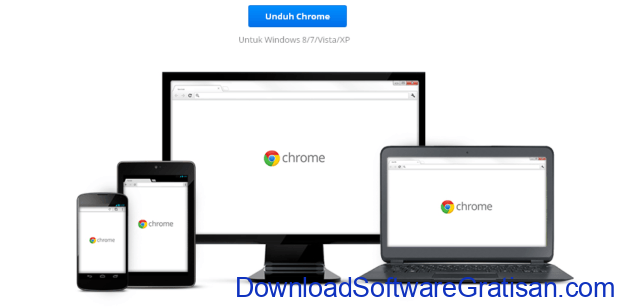 Download Google Chrome Terbaru Browser Gratis untuk PC