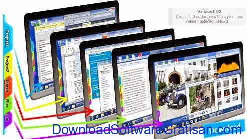 Aplikasi Virtual Desktop : ScreenTabs