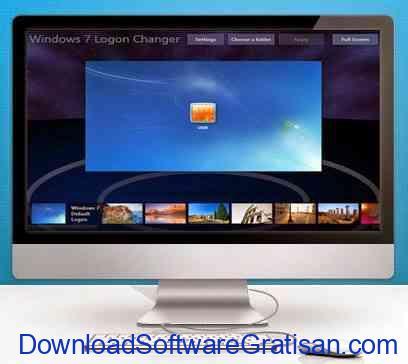 Aplikasi Rubah Gambar Login Windows 7 : LogonChanger.com