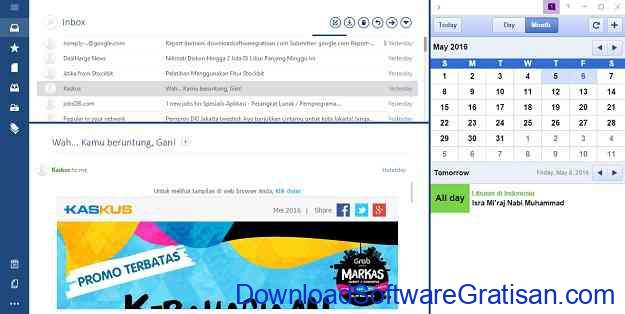 Download Aplikasi Email untuk PC Mailbird