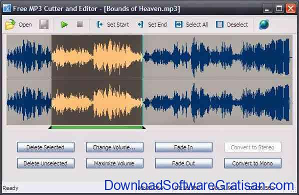 Aplikasi Potong Dan Edit MP3 - MP3 Cutter and Editor