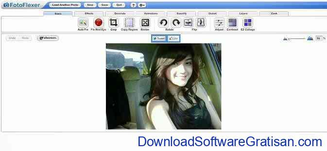 Aplikasi Edit Foto Online FotoFlexer