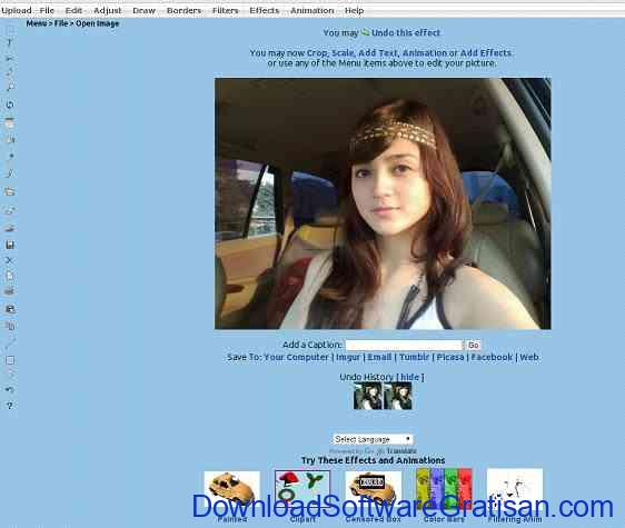 Aplikasi Edit Foto Online Lunapic