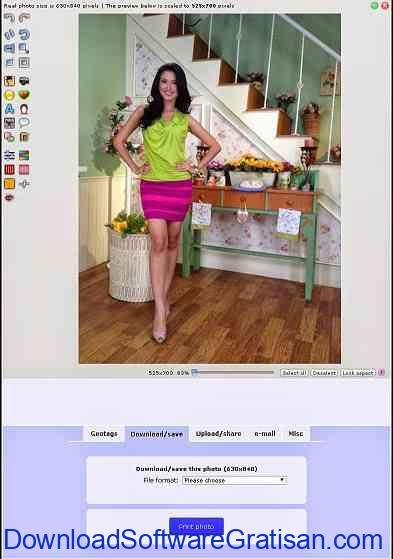 Aplikasi Edit Foto Online Phixr