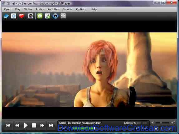 Pemutar Video atau Media Player Gratis Terbaik smplayer