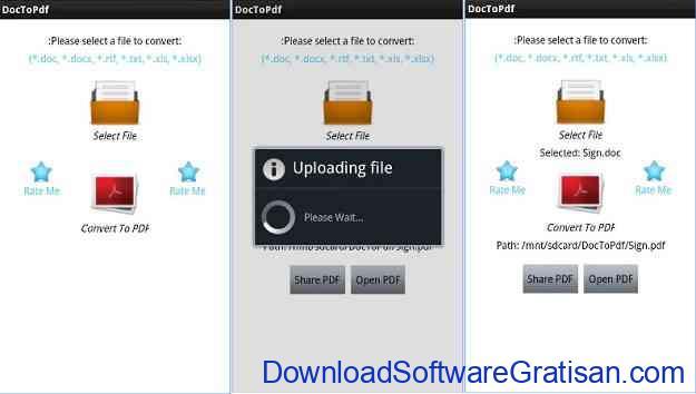 Aplikasi Convert PDF ke Word untuk Android dan iOS Doc To Pdf
