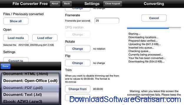 Aplikasi Convert PDF ke Word untuk Android dan iOS File Converter