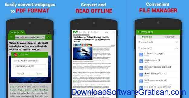Aplikasi Convert PDF ke Word untuk Android dan iOS Web to PDF Converter & Editor