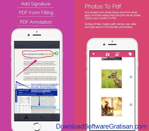 Aplikasi Convert PDF ke Word untuk Android dan iOS iFiles Converter Lite