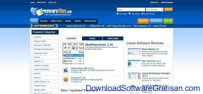 tempat download aplikasi pc Freeware Files