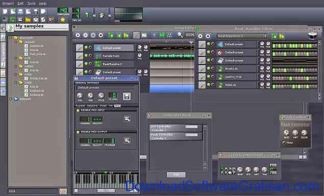 Aplikasi Editor Musik Gratis Alternatif FL Studio : LMMS