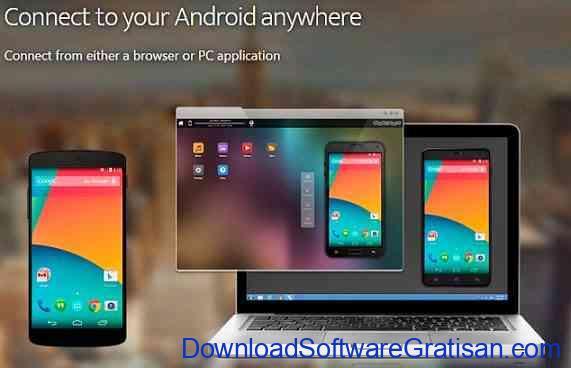 Aplikasi untuk Menghubungkan Android ke PC Mobizen