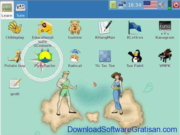 Sistem Operasi Komputer Terbaik untuk Anak Dodolinux