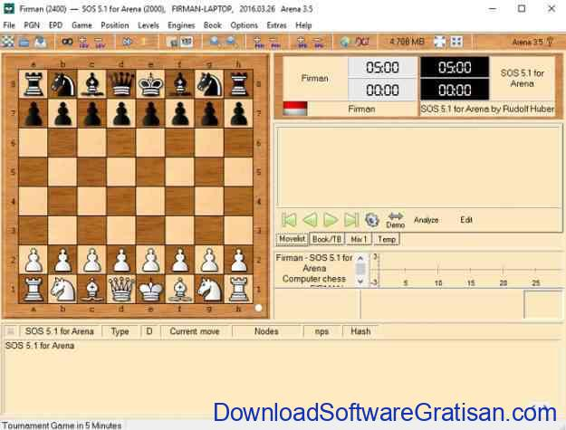 permainan catur Arena