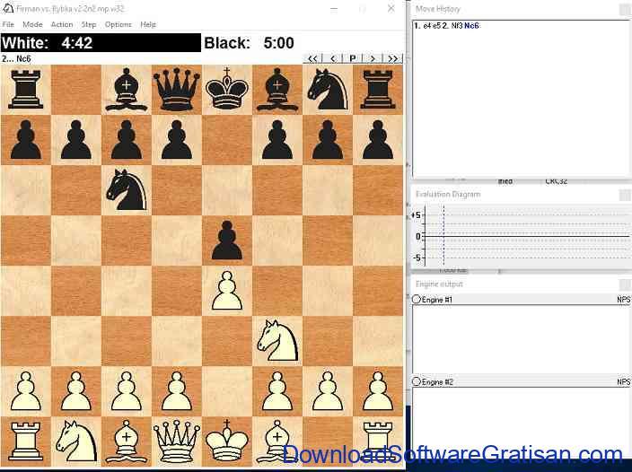 permainan catur Portable WinboardX Deep Rybka