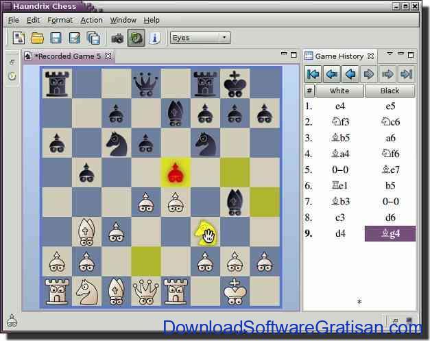 permainan catur haundrix