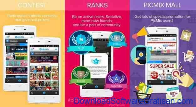 Aplikasi Berbagi Foto Paling Populer : PicMix