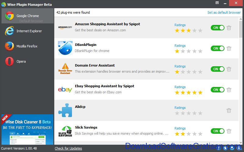 Aplikasi Gratis Untuk mengelola Plugin Browser