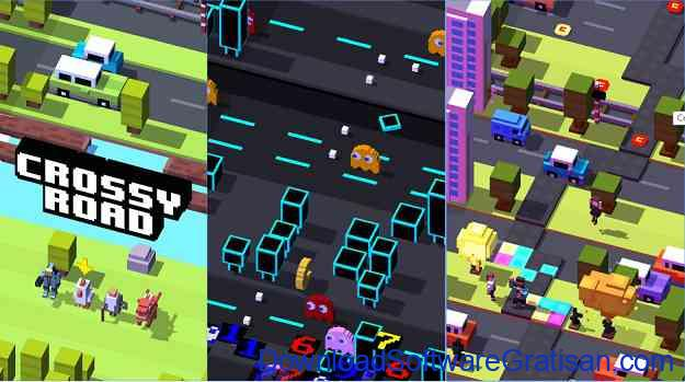 Game Android CROSSY ROAD