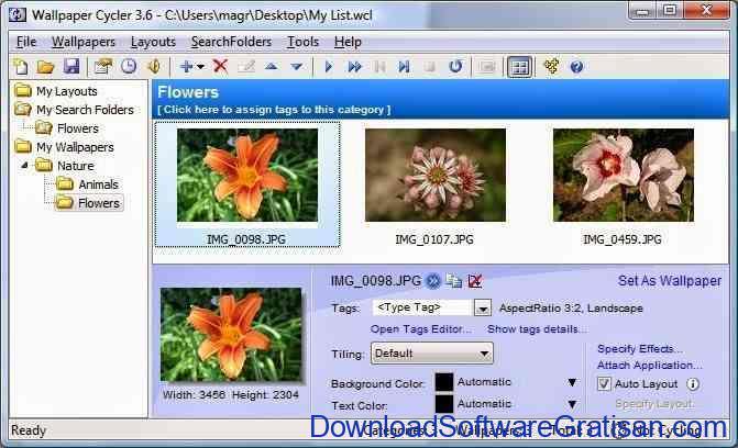 Aplikasi Penganti Gambar Wallpaper - Wallpaper Cycler Lite