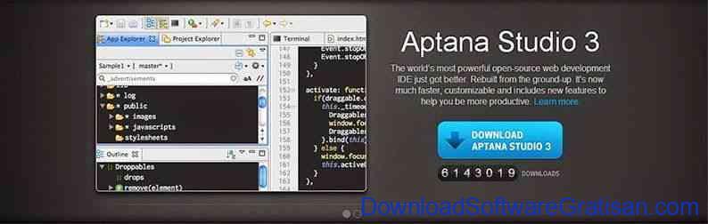 Aplikasi Gratis Alternatif Terbaik Adobe Dreamweaver