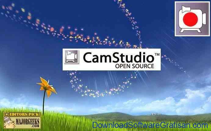 Aplikasi Gratis Rekam Video Desktop Komputer : CamStudio