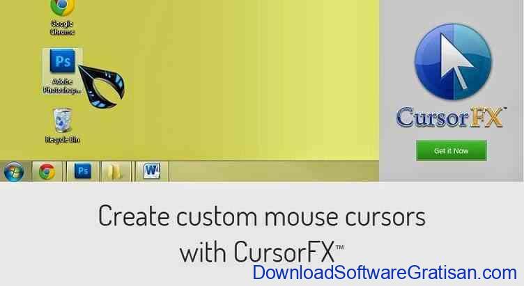 Cara Mudah Mengganti Cursor Dengan Aplikasi CursorFX