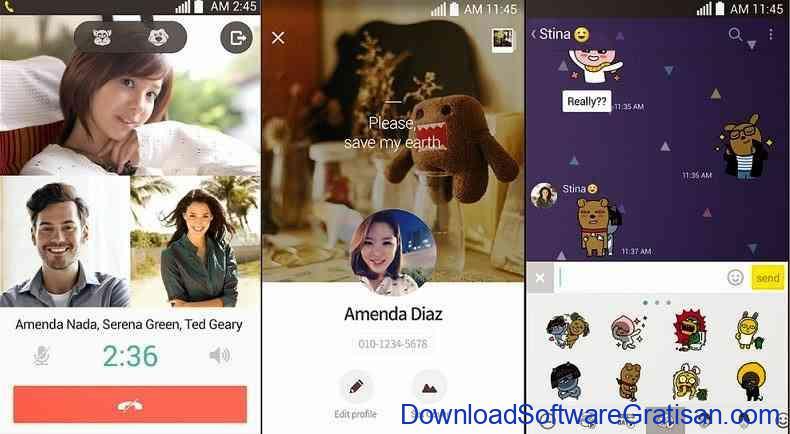Aplikasi Chat Gratis : KakaoTalk